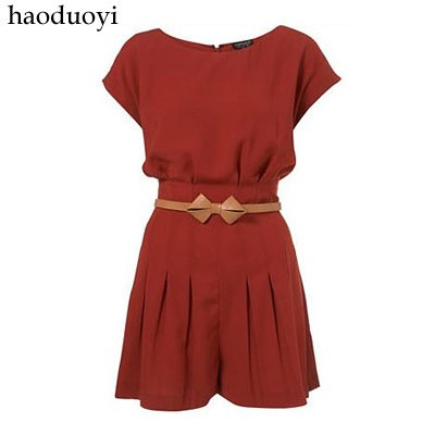 european jumpsuit with retro and beautiful bat sleeve free shipping for epacket and china post air mail