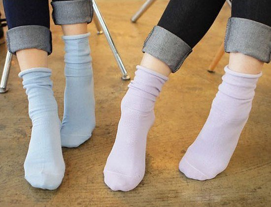 Fashion Causal Women's Cotton Breathable Socks,20 Pair/Lot+Free shipping