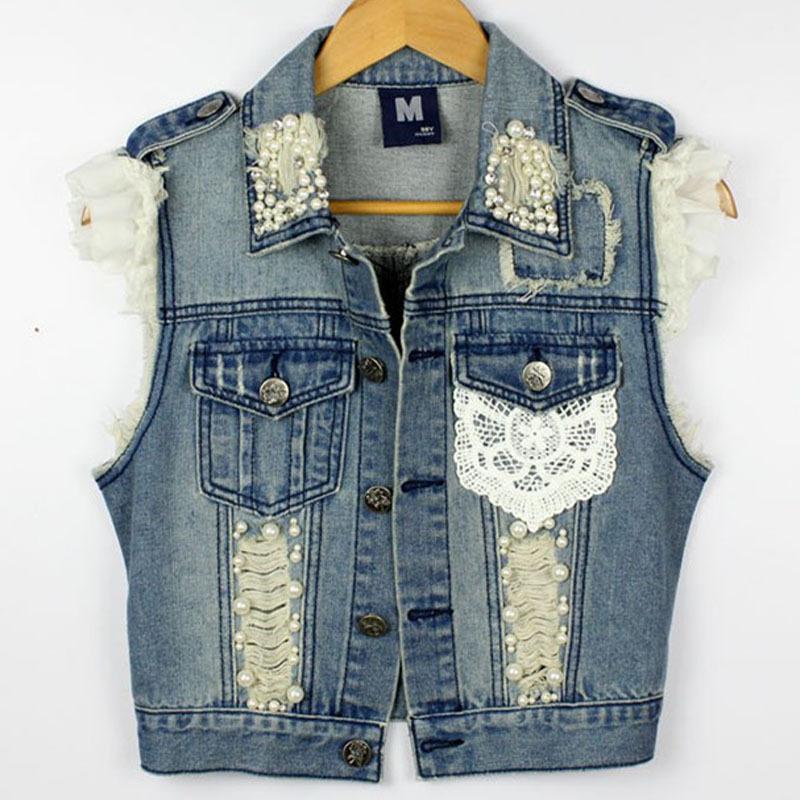 Как сделать с джинсовой куртки жилетку своими руками