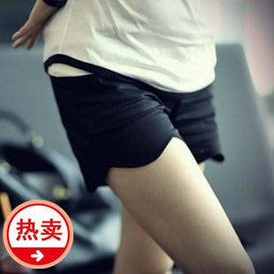 Fashion maternity clothing maternity clothing summer plus size maternity belly pants sports shorts