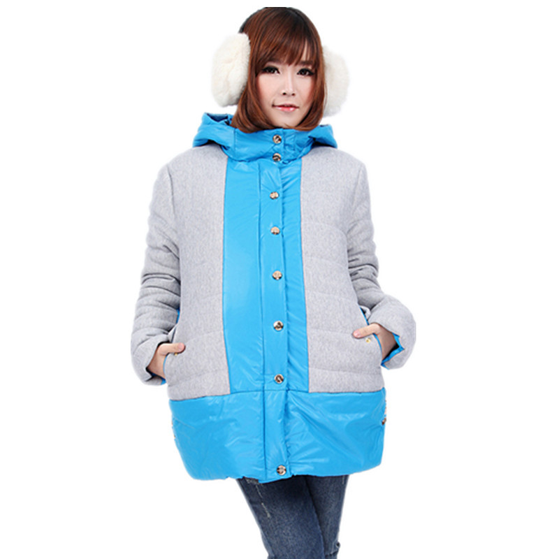 Fashion maternity clothing winter maternity wadded jacket winter thickening thermal cotton-padded jacket cotton-padded jacket