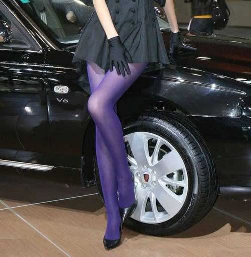 Fashion Summer Hot Sheer 80D Pantyhose Stockings Tights Leggings 10 Candy Colors[040210]