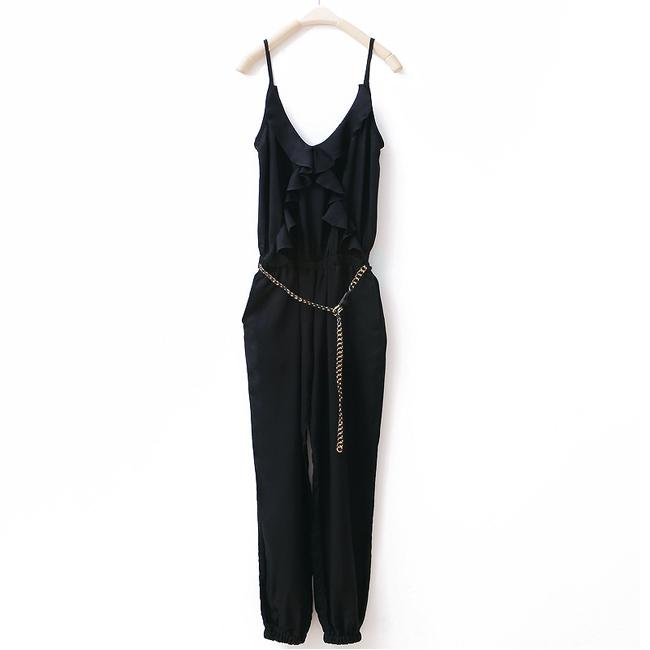 Fashion tube top jumpsuit loose women's casual trousers jumpsuit 2012 summer new arrival wk340