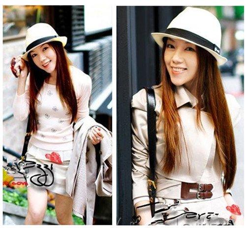 Fashion Unisex Fedora Trilby Gangster Cap Summer Beach Sun Straw Panama Hat New[04070133]