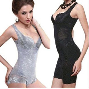 Fat burning slim beauty care one piece shaper slimming clothes shapewear strap buckle