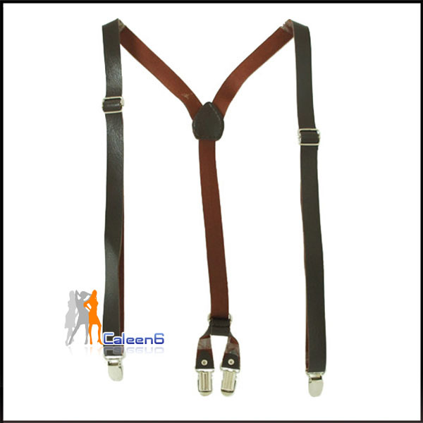 Faux leather fashion leisure wild the new Ms. strap Korean casual suspenders Z1256