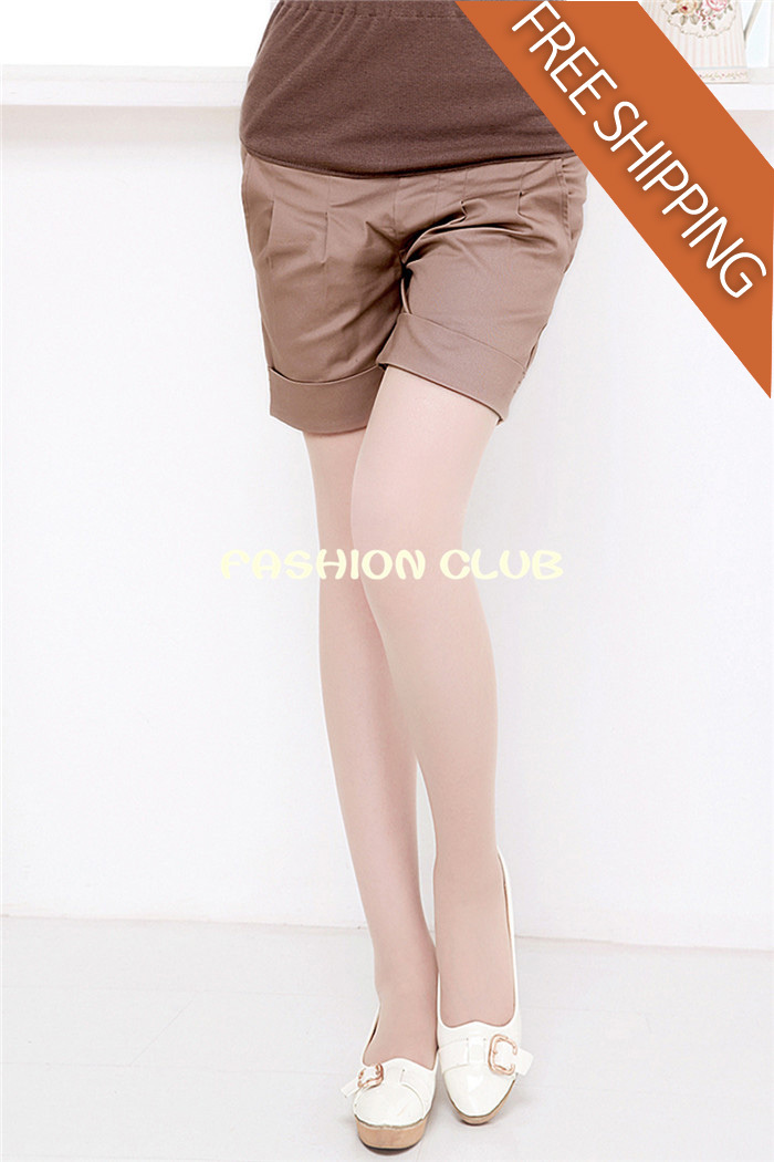 FC-802 Maternity pants summer clothing fashion knee-length pants belly