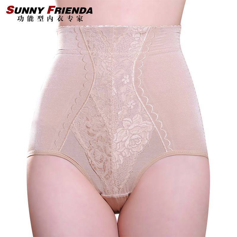 Female high waist abdomen panties drawing butt-lifting body shaping pants corset pants slimming pants 2693