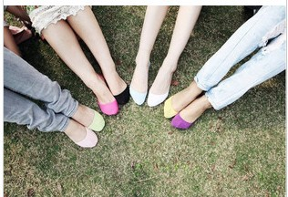 female socks female invisible socks sock slippers 100% cotton shallow mouth summer sock thin 100% cotton solid color