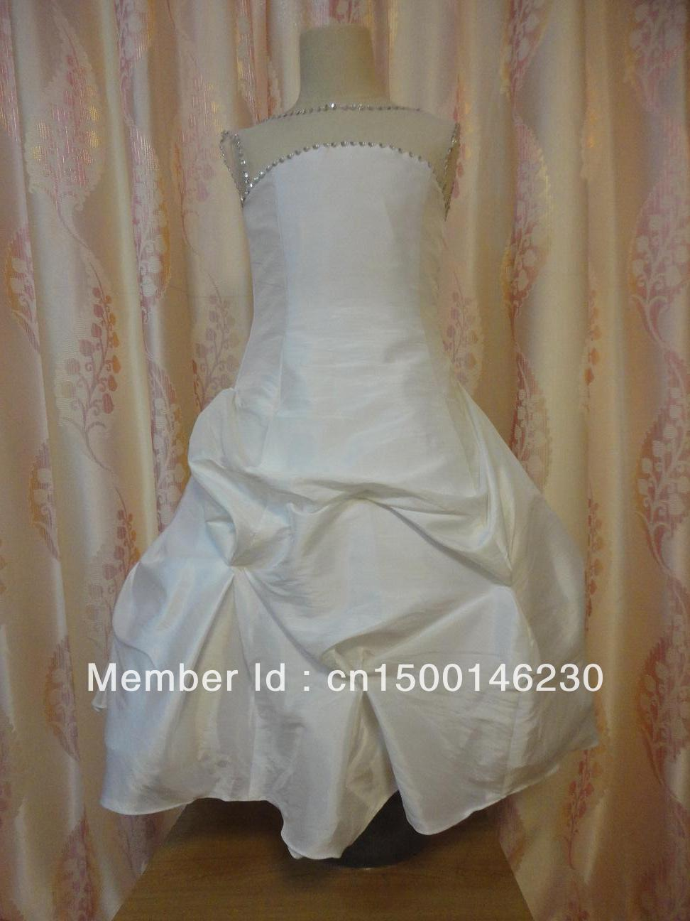 flower girl dress first communion dress G329