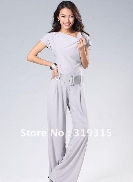 free ship! high class 2012 new  women Jumpsuits & Rompers,100% quality women's fashion knitted  pants/capri pants /Trousers