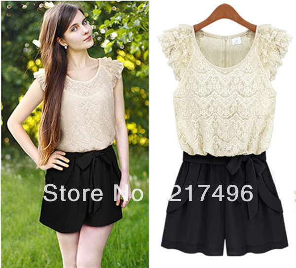 free shipBritish stly tidal range Spring 2013 new hot Fashion pants lace openwork splicing hit color lady dress pants with belt