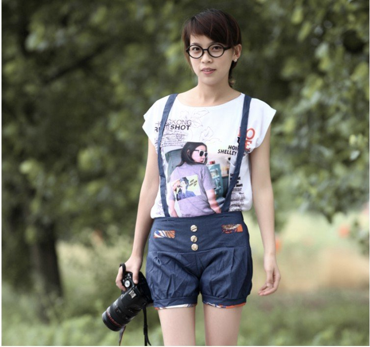 Free Shipping (1 pieces/lot) missfeel flagship of quality denim shorts,high quality short pants