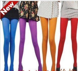 Free Shipping 10pcs Velvet pantyhose leggings warm thick stockings 14 colors to choose