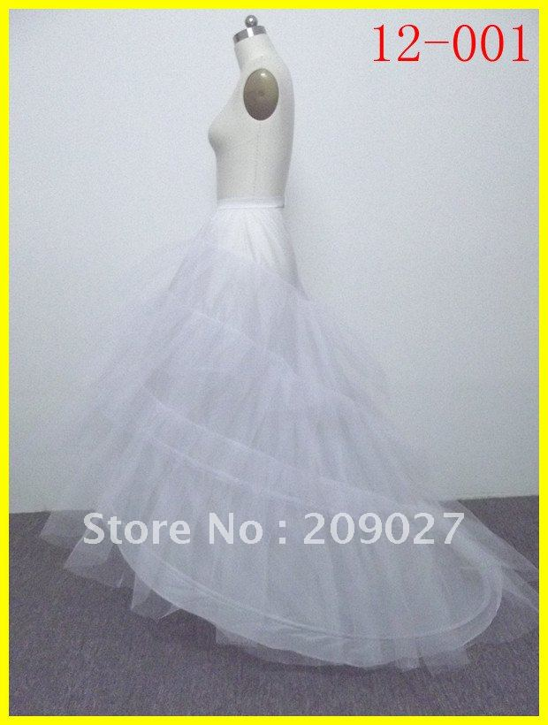 Free Shipping 2 Hoop Wedding Dress Petticoat Crinoline Bridal Slip Skirt