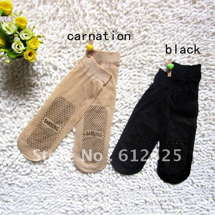 Free shipping (20 pieces/lot) Prevent slippery wear-resisting female short filar socks