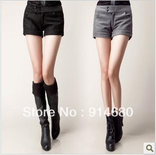 Free shipping !2012 Autumn Winter Hot buy  New shorts,Shorts bootcut  Wholesale Two colors four sizes