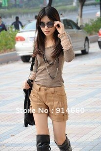 Free shipping !2012 Autumn Winter Korea Hot fashion boots pants Wholesale Two colors four sizes
