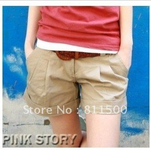 free shipping 2012 fashion summer women casual short pant/lady's shorts/boots