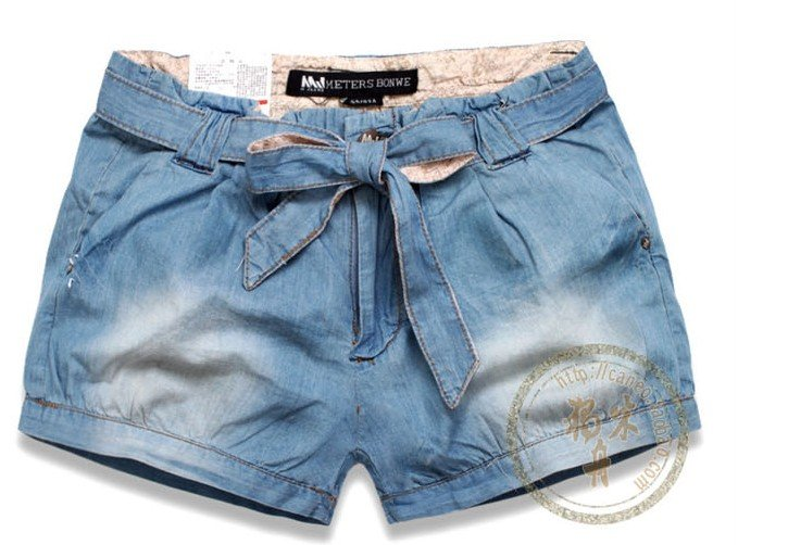 Free Shipping  2012 hot sale low price denim shorts,so fashion ladies shorts  ladies shorts free shipping  1 piece/lot