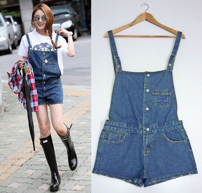 Free Shipping 2012 Jeans,  joined bodies clothing,  jumpsuit.overall,  short jumpsuit, jumpsuit for women, jump suits, AD9410JK