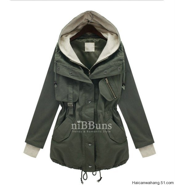 Free shipping! 2012 maternity clothing fashion casual sweatshirt Army Green blue outerwear