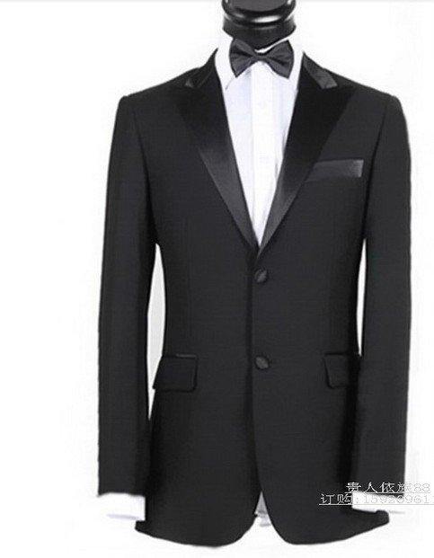 Free shipping 2012 men's dress party dress wedding Slim married groom suit