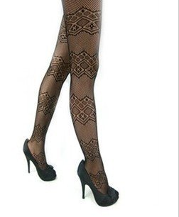 Free Shipping, 2012 New Arrival Fishnet Stocking, Tight Black Panty Hose, PH112