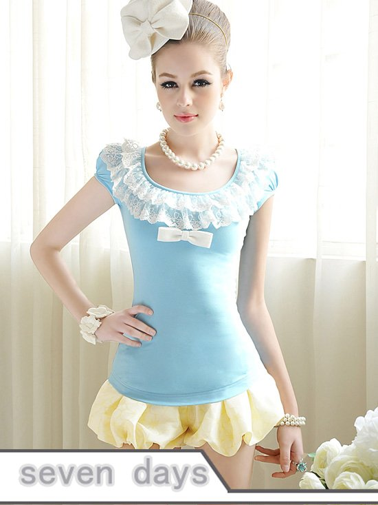 Free Shipping 2012 New Arrival Lady's Low Waist Bloomer Short Pants NL072334YL