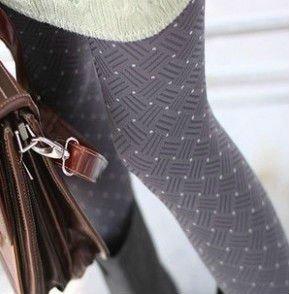 Free Shipping, 2012 New Arrival Small Round Spot Dark Crinkles Stocking, Vintage Velvet Panty Hose, PH018
