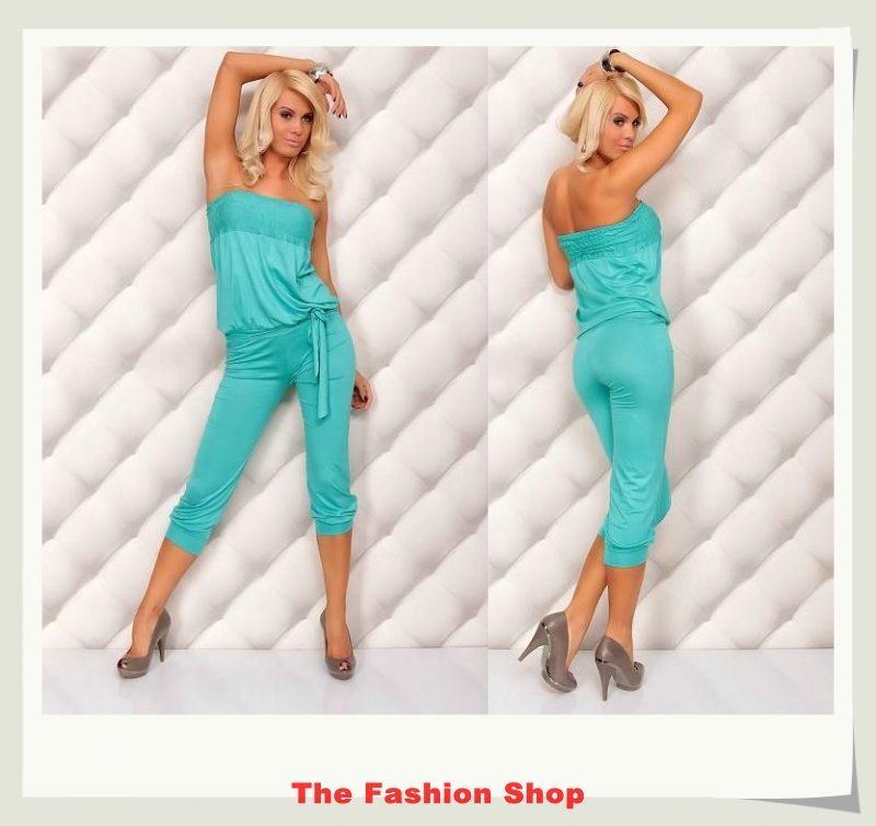 Free shipping!2012 New Fashion Ladies' Jumpsuits,Sexy Women Rompers,One size,NA4005b1,Blue