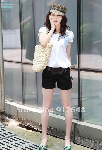 free  shipping   2012 new summer shorts han edition sequins shorts women's clothing