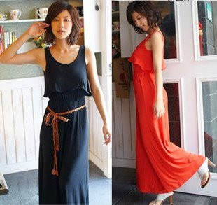 free Shipping 2012 new   women jumpsuits  Loose  casual  Vest skirts pants   cheap  wholesale