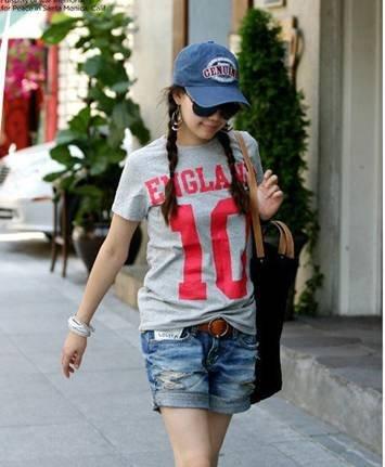 Free shipping ! 2012 summer Ms. new Korean low-waist shorts, women's denim shorts