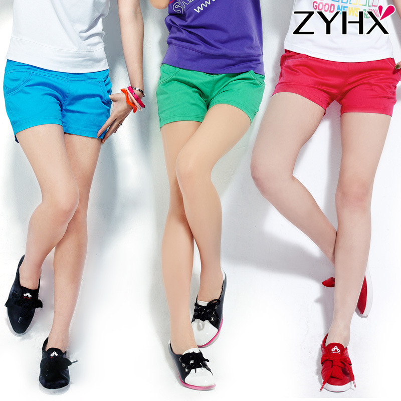 Free shipping! 2012 summer women's casual fashion plus size shorts all-match single-shorts female