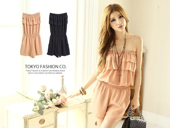 Free shipping 2013 dresses new fashion  corset Rompers Bra-piece pants