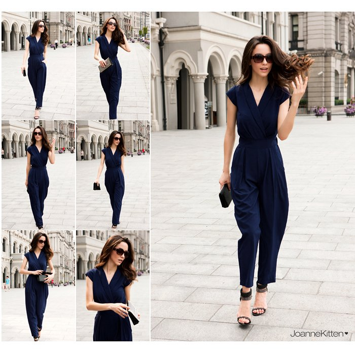 Free  Shipping 2013  fashion star elegant jumpsuit women,rompers for ladies, bodysuit C800-040504 size S M L