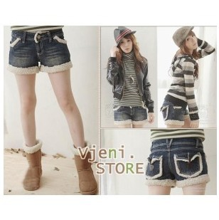 Free Shipping 2013 new fashion womens jeans shorts spring and autumn casual cool shorts ladies short pants