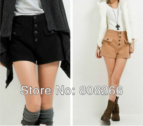 free shipping 2013 new spring woman shorts fashion designer ladies shorts 4 colors