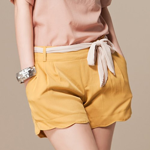 Free shipping  2013 New women's   Shorts  Three Colors For Choose Yellow Blue Tangerine wholesale and retail #12336