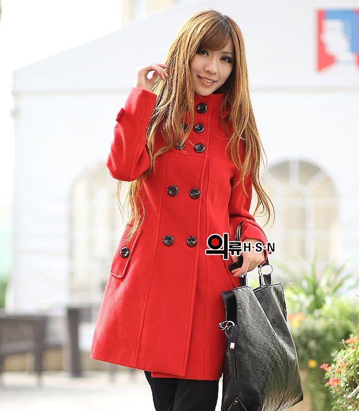Free shipping 2013 promotion women winter wool coats trench coat outerwear clothes jacket windbreaker outdoor long overcoat