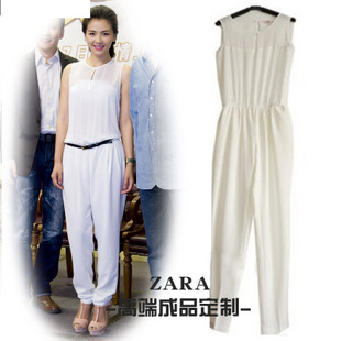 Free Shipping 2013 spring and summer new arrival elegant casual pants fashion jumpsuit