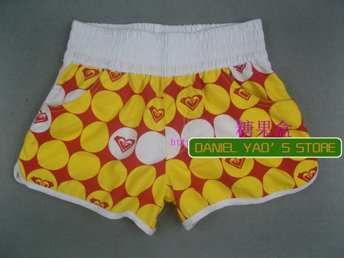 Free shipping/2013 surfing shots/swimming trunks /short beach wear/ women's leisure wear /sexy beach pants/colorful/RX-08