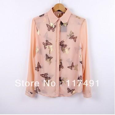 Блузка С Бабочкой Купить