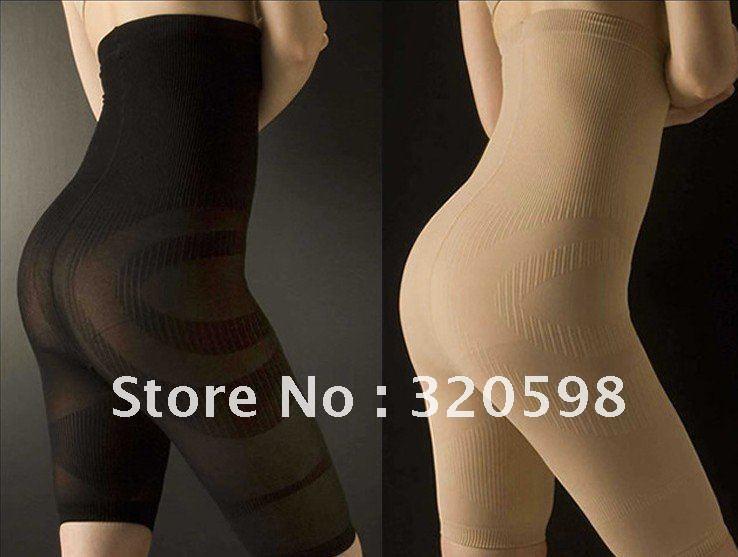 Free Shipping 20pcs/lot KOTSUBAN Spats High Waist Slimming Pants Taping Beauty Pants Slimming Fifth Pants
