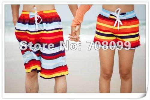 Free shipping  30sets/lot  2012 Fation Men and women Swim Surfing Board  Beach Shorts pants