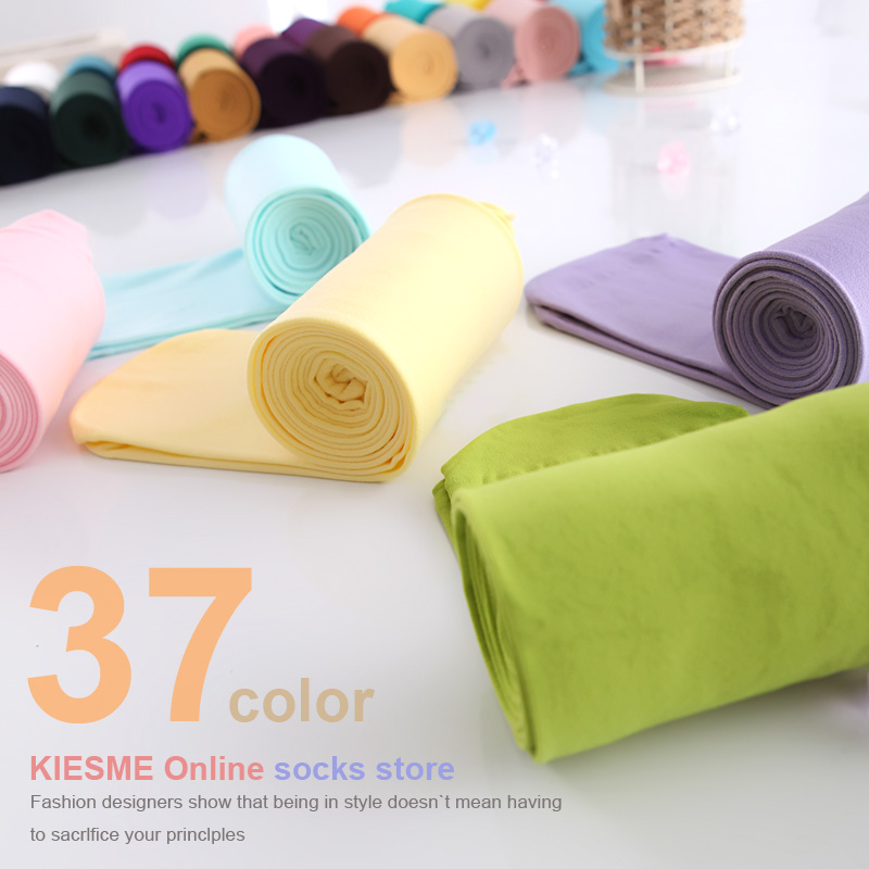Free Shipping!  37 colors 2012 high grade velvet colorful women's socks cute tights 80d ladies eggings