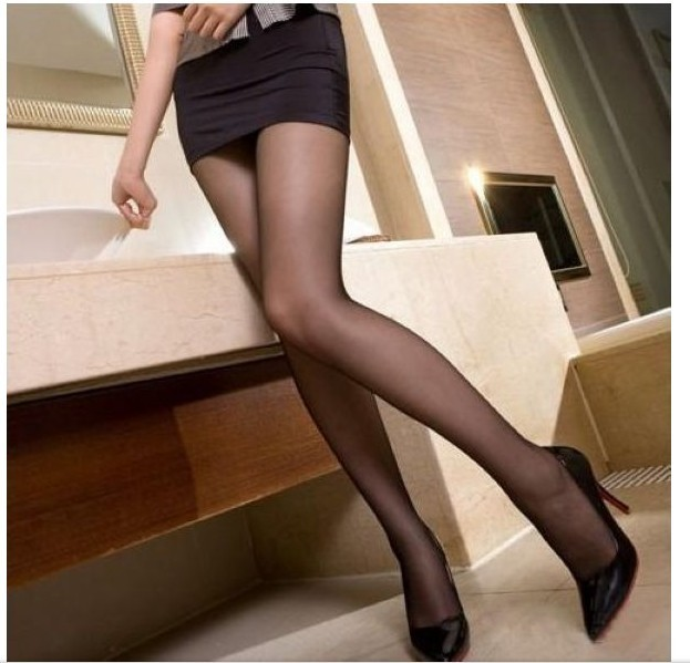 Free shipping 4 colors high quality wrap core silk women's tights stockings pantyhose, 20pcs/lot consumer pack
