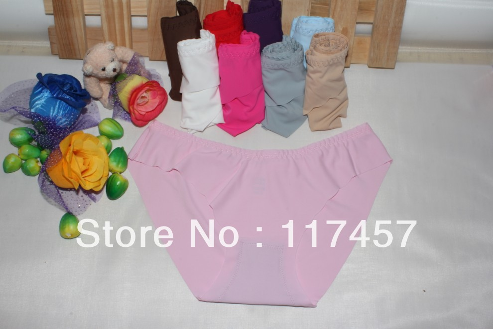 Free Shipping 4PCS/Lot   women's sexy underwears Low waist sexyg thongs panties for women underpants One-piece Seamless