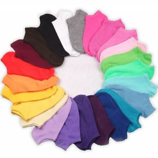 [ Free Shipping ] 50Pair/Lot New Arrival special offer colorful lovely candy socks , sport sock , women sock